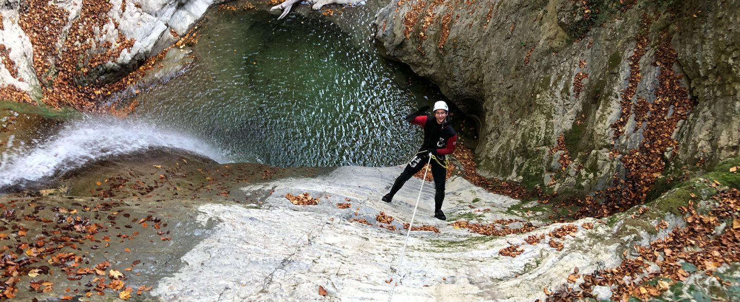 Canyon Angon rappel de 20m