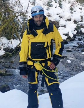 Loic Fabre ospeed canyoning