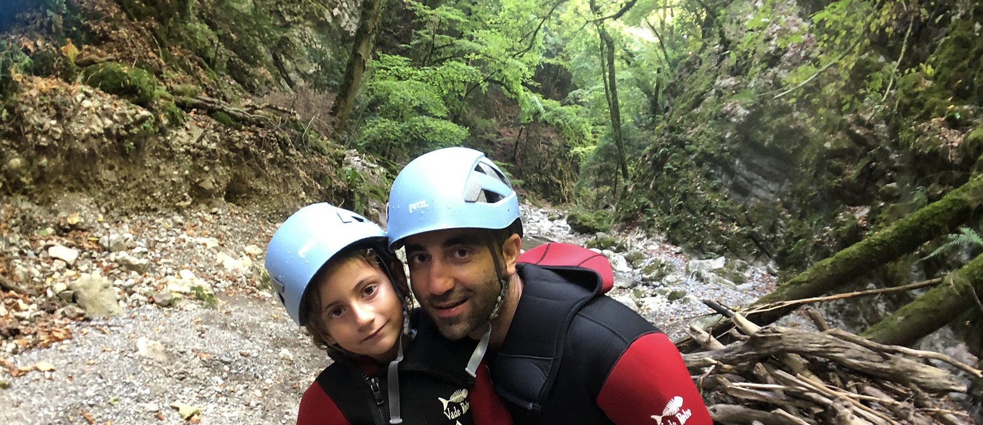 Formule famille - canyoning Angon