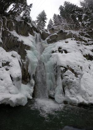 Ice Canyoning Mégeve